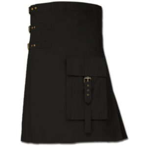 Brutal Grace Kilt for Active Men black 1