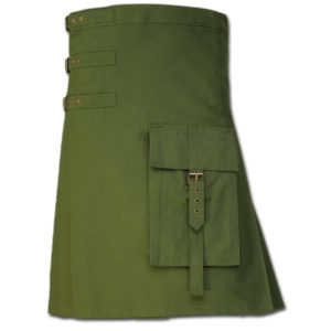 Brutal Grace Kilt for Active Men green 1