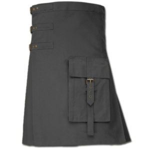 Brutal Grace Kilt for Active Men grey 1
