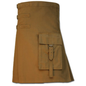 Brutal Grace Kilt for Active Men sand 1