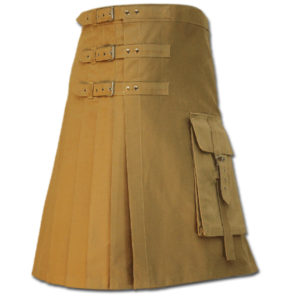 Brutal Grace Kilt for Active Men sand 2