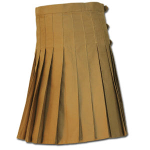 Brutal Grace Kilt for Active Men sand 3