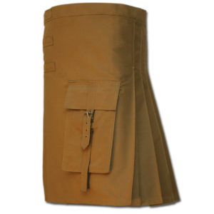 Brutal Grace Kilt for Active Men sand 4