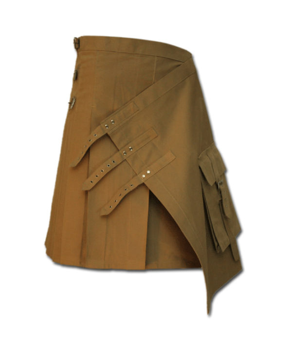Brutal Grace Kilt for Active Men sand