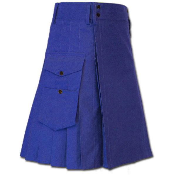 Great Kilt for Stylish Men Blue