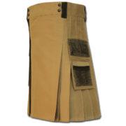 Net Pocket Kilt for Working Men sand 1