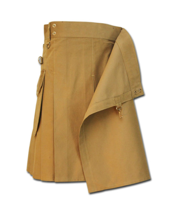 Utility Kilt for Decent men khaki