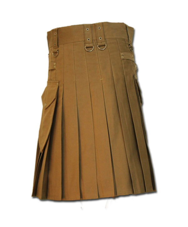 Utility Kilt for Decent men sand