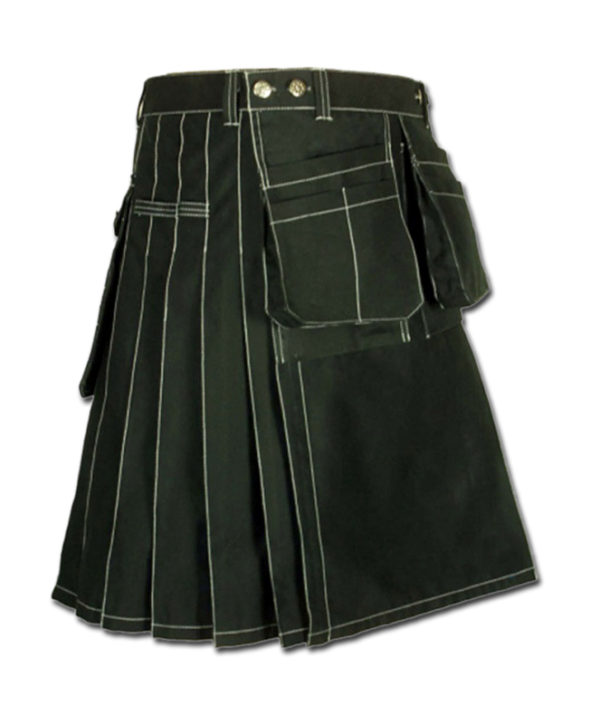 Workwear kilt for Working Men black
