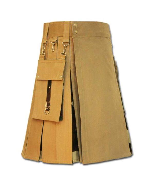 Camo Box Pleated Kilt-2