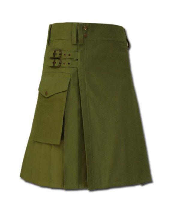 Casual Kilt for Every Men green
