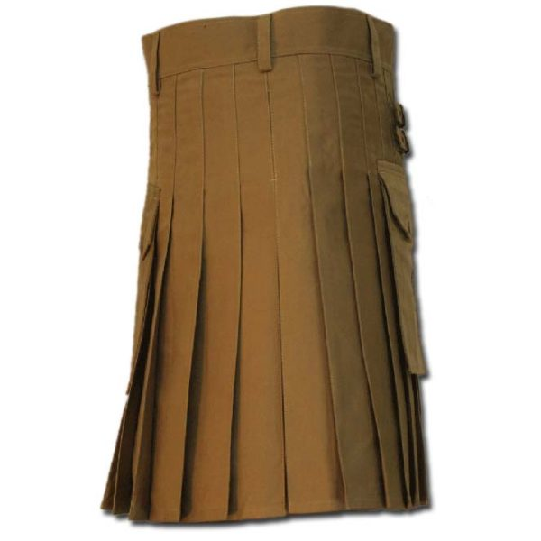 Casual Kilt for Every Men khaki 1