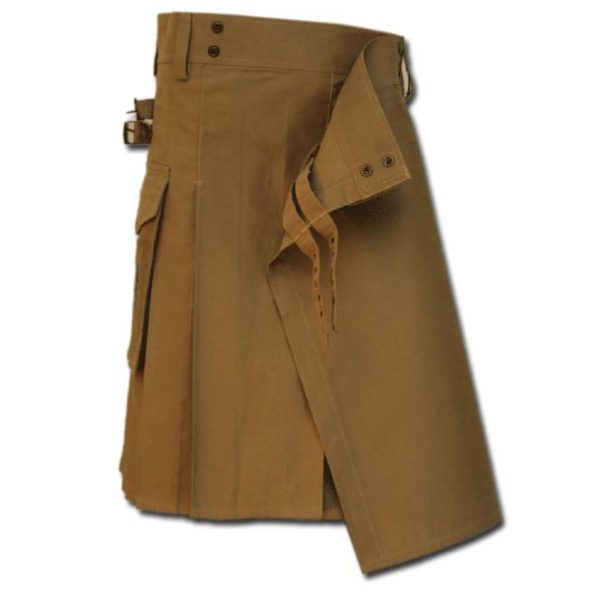 Casual Kilt for Every Men khaki 2