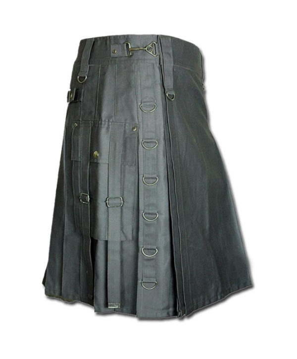 Dee Kilt for Burning Man grey 1