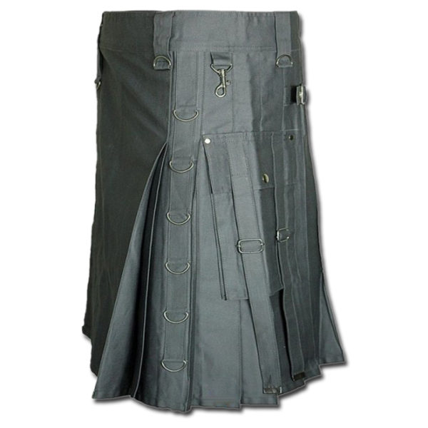 Dee Kilt for Burning Man grey 2