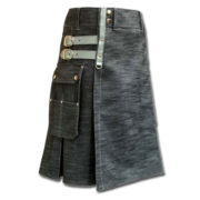 Denim Kilt for Stylish Men-3