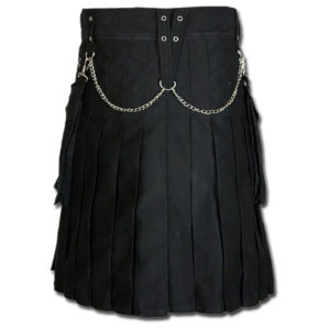 Fashion Kilt for Burning Man black 2