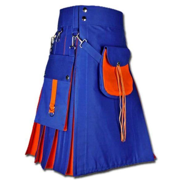 Hybrid Kilt With Sporran-blue