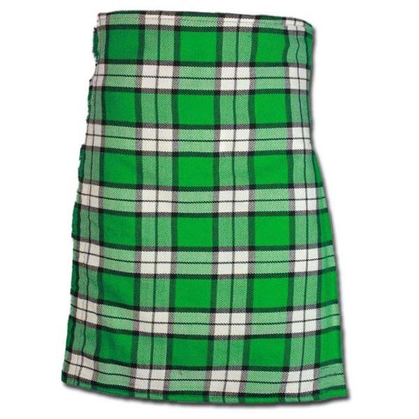 Longniddry Green Modern Tartan Kilt-2