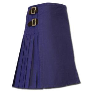 Sexy Kilt for Hot Men blue