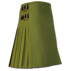 Sexy Kilt for Hot Men green