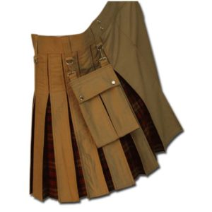 Tartan Box Pleated