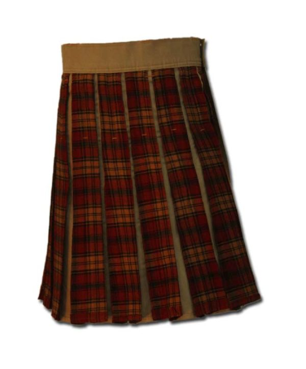 Tartan Box Pleated-3