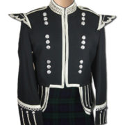 Piper Drummer Military Doublet Black