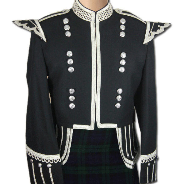 Black Drummer Military Doublet-1
