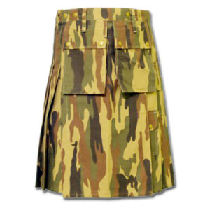 Camouflage Military Kilt