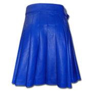 Leather Kilt-blue 2