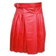 Leather Kilt-red 1