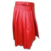 Leather Kilt-red 2