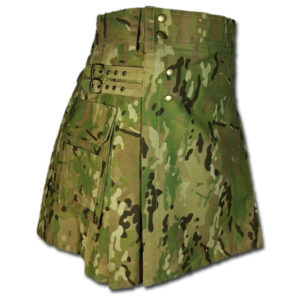 Multi Camo Utility Tactical kilt