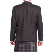 Tweed Argyle Jacket With 5 Button Vest-3
