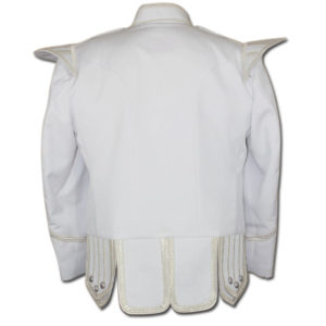 White Drummer Doublet Jacket