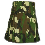 Woodland Camouflage Army Kilt-1