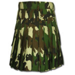 Woodland Camouflage Army Kilt-2