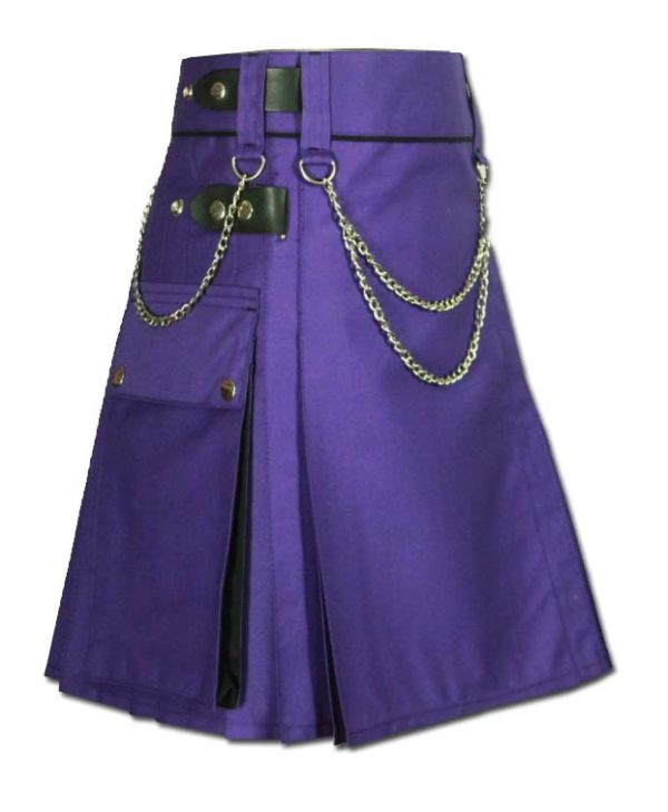 Women Kilt With Chain