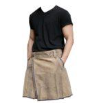 Bavarian-Suede-Leather-Kilt