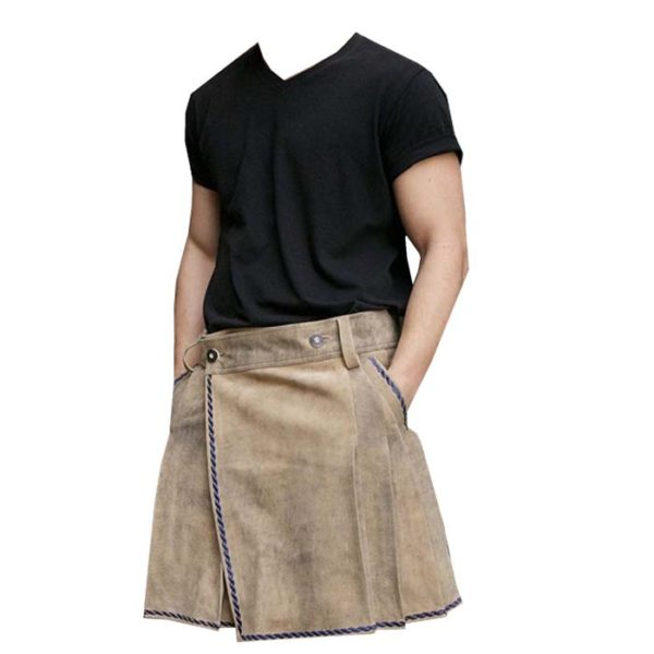 Bavarian-Suede-Leather-Kilt