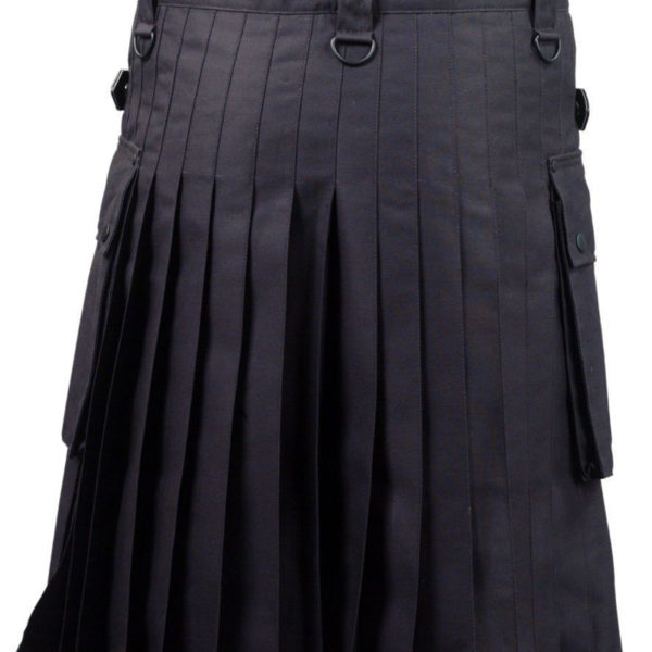 Black-Deluxe-Utility-Fashion-Kilt-Back