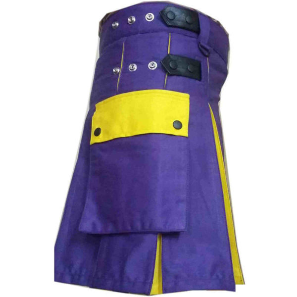 Blue-Yellow-hybrid-Utility-Kilt-pocket-3