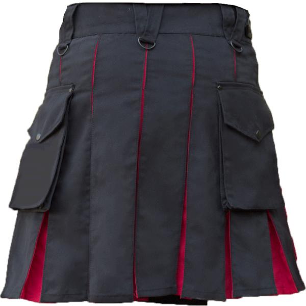 KJ-Black-Red-Hybrid-Kilt-back-4