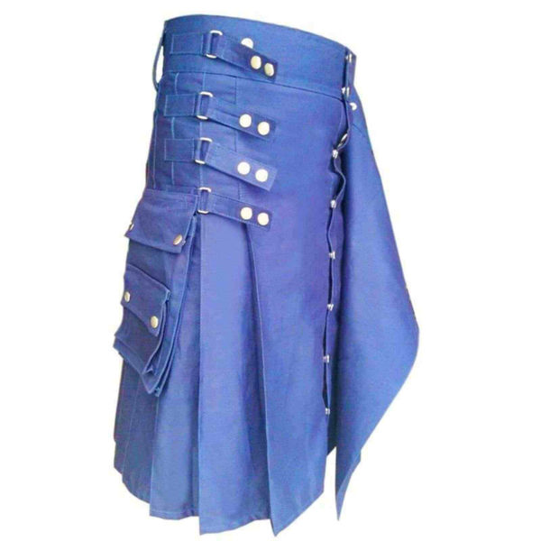 Genieun-hybrid-kilt-with-interchangeable-front-apron-blue-kilt-1