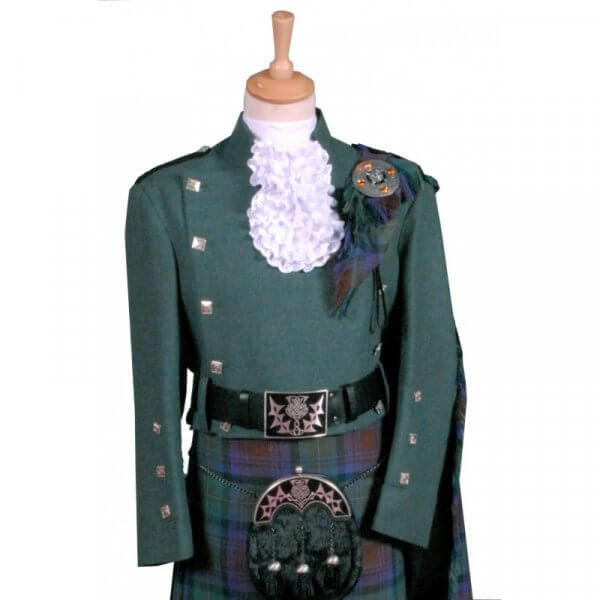 Montrose Green wool Doublet Jacket for Men