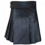 black-leather-kilt