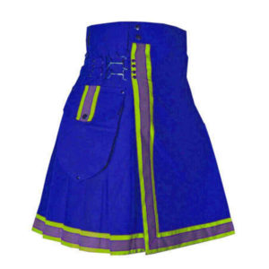 blue-cargo-fashion-kilt-pins-flashes-front