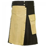 hybrid-kilt-black-and-khaki-left-side