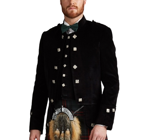 Sheriffmuir Doublet and Vest in Velvet Coloured